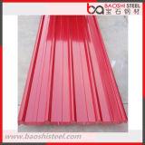 Materiais de telhadura/telha de telhado/folha revestidas coloridas da telhadura