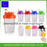 400ml 14oz gelbe schüttel-Apparatprotein-Eignung-Wasser-Flasche der Farben-pp. Plastik