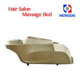 Base di lavaggio della presidenza di massaggio dello sciampo dei capelli di lusso dorati di colore