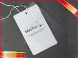 Weißbuch-Fall-Marken-Kleid gedruckte Fall-Marke