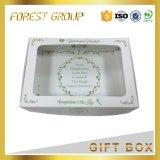 Коробки пирожня бумаги цвета слоновой кости качества еды