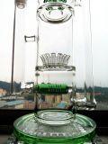 Traumquersprenger-Filtrierapparat-Glaspfeife des Hbking Glas-K101 Cali