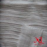 Weißer Jacquardwebstuhl-Silk Chiffon- Gewebe-Knicke für Kleid