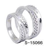 Fabbrica d'argento Hotsale dell'anello delle coppie dei monili 925 di modo