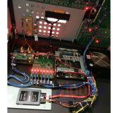 Titainシステムが付いているAvolitesのトラの接触コンソールそしてDMX Ligtingのコントローラ
