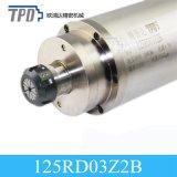 moteur de poinçon d'axe de refroidissement par eau du diamètre 2kw 3000rpm de 125mm pour le métal