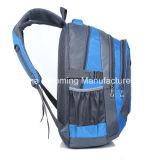 男女兼用のナイロン肩の学校のティーネージャーのバックパック袋