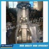 Válvula de porta de aço inoxidável com flan de água