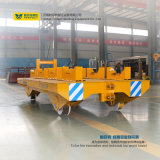 carro plano del cargo de la carretilla del transporte ferroviario 10t