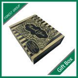 Buch-Form-magnetische Schliessen-Geschenk-Kasten-Pappe