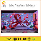 SMD2121 LED表示高い明るさの屋内P3催し物の開催地