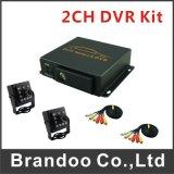2CH des CCTV-DVR Lieferungs-Bus-Taxi Mdvr Installationssatz-Auto-DVR