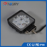 Luz de nevoeiro LED de alta potência de 27W, luz grossista de construção LED