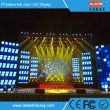 Pantalla de alquiler a todo color de interior P5 LED de la alta calidad TV