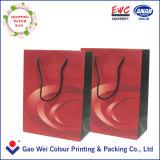 Cadeau imprimé décoratif personnalisé Sac en papier Kraft