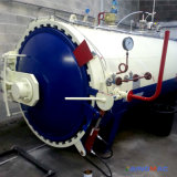 完全なオートメーションは蒸気暖房が付いている加硫オートクレーブにタイヤをつける