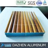 Profilo di alluminio personalizzato del grano di legno per tutto il Governo di generi con il formato differente