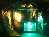 Lumière d'inondation jaune-clair extérieure de la couleur DEL de DEL DC12V/DC24V