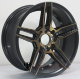 15 колесо сплава 16 дюймов гипер черное для вспомогательного оборудования автомобиля