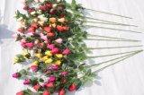 Silk цветки фальшивки бутона Rose искусственних цветков для украшения венчания