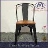 Populärer neuer Entwurfs-Freizeit-Antike-Kaffee-Stuhl mit hölzernem Sitz