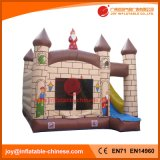 Bouncer rimbalzante di salto gonfiabile del castello con la trasparenza (T3-106)