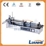Máquina de relleno semi automática neumática del llenador para la crema/el líquido/la loción