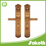 Esterno professionale del hardware del portello del metallo di schiocco del hardware di Sokoth e fornitore placcato Interiorbig della maniglia di portello