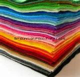 Fieltro no tejido caliente del color de la tela de la venta