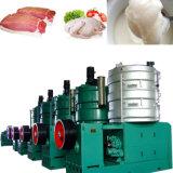 Ligne de production d'huile animale raffiné du suif de boeuf usine de raffinage du pétrole de l'équipement