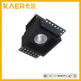 Projector Recessed da grade do diodo emissor de luz do CREE 7W luz quadrada