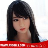 Bambola reale del sesso del silicone asiatico di certificazione 140cm del Ce