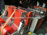 Máquina caliente del bolso de la camiseta del corte del carril doble de alta velocidad
