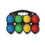 水とセットされるプラスチックBocce球