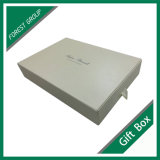 Diseño de lujo de embalaje de regalo de papel caja del cajón con la cinta