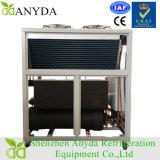 Ar que condensa o refrigerador mais frio de refrigeração