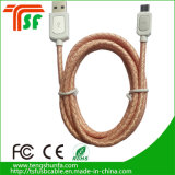 다채로운 가죽 USB 케이블 고품질 책임 케이블