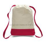 安い綿のドローストリングのバックパック袋