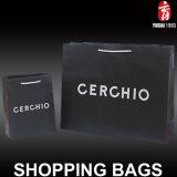 De papel de gran lujo bolsa de regalo para ropa Embalaje