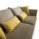 Sofà del tessuto di disegno moderno della mobilia del salone (F629-15)