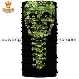 Fatto nel Bandana multifunzionale esterno del cranio del poliestere poco costoso della Cina