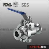 De aço inoxidável de alta pureza apertadas ou Válvula de Esfera de Retenção (JO-BLV1010)