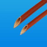 Втулки куртки провода стеклоткани смолаы силикона залакированные Braided электрические