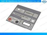 Impression d'image tramée sur le clavier numérique de membrane de recouvrement avec l'appui et les crayons lecteurs d'Alu