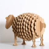 나무로 되는 기술 예술 동물성 비품 작은 양 호텔 훈장