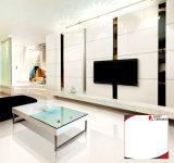 Белая Polished или штейновая плитка фарфора пола для ванной комнаты