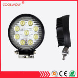 Punkt der LED-Arbeits-heller Stab-Arbeits-Lampen-4 des Zoll-27W/Flut Squre/rundes für Offorad LKW
