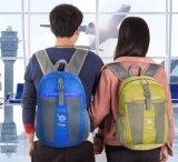 Sac à dos pliable fait sur commande de sac à dos pour des sports de course exécutant camper extérieur