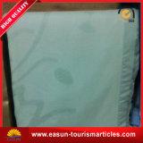 Cobertor reversível do bebê do Knit do algodão, cobertor do velo da linha aérea de China