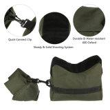 Caccia esterna del basamento dell'obiettivo di caccia del tiratore franco del sacchetto di sabbia del fucile di sostegno del sacchetto di Tatical Front&Rear